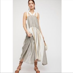 NWT Free People Joyel Midi Dress
